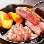 濃厚な肉の旨みを堪能できる『別海町しまざき壮健牛のヒレステーキ(100g)』