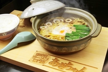 [定番!!]鍋焼きラーメン