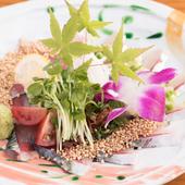 プリプリの生さばを、香ばしいゴマと味わう郷土料理『博多名物ごまさば』