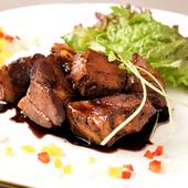 イタリアンと中華のフュージョンレシピ『バルサミコ酢豚』