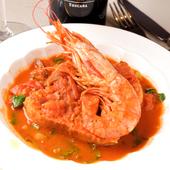 濃厚な海老味噌の『ガンベリーニのスープ(海老)』