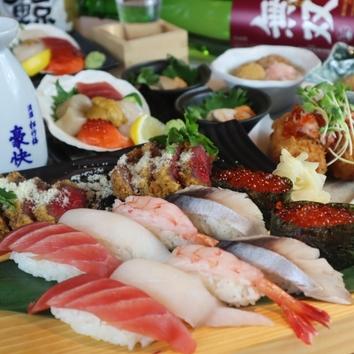 ≪11~1月≫豚トロロ鍋・寿司5種等2.5h飲み放題付5500円⇒3500円