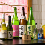 特別純米酒、生貯蔵冷酒も青森産。地元の食材に良く合う日本酒
