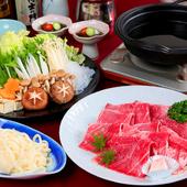 柔らかく、とろけるような和牛を味わう『鹿児島県産和牛すき焼き 3000円コース』