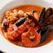 美味しい魚も味わえる『魚介のトマト煮込み(スープ仕立て)』