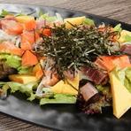 かえか海鮮サラダ