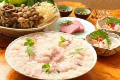 フグと熊野牛を堪能できる【贅沢】なコース♪ 宴会や忘年会・新年会にも最適です!