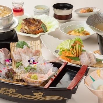 【ランチ】天然桜鯛ミニ御膳 ※3日前まで要予約