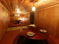 1階に個室風の隠れ家フロアを設置!