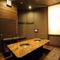 豪華なつくりの個室を、キャパシティを変えて3部屋完備