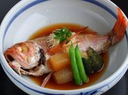 海の幸の美味しさを煮付けで堪能『のどぐろの煮付け』