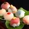 パクっと一口で海の幸を満喫『手毬寿司』