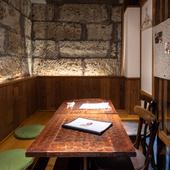 プライベート空間の半個室が3ブースあり!