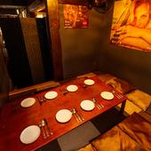 飲み放題付き宴会コースは料理充実の4000円コースが一番人気