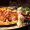 今大流行のチーズタッカルビ鍋がお得に飲み放題付き全6品(税込)4000円でご用意!