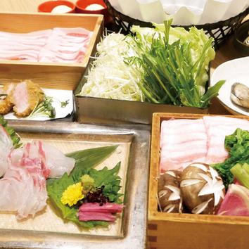 ●<菊 kiku>たから豚しゃぶしゃぶコース