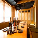 完全個室で宴会を◆2名~100名まで◆単品飲み放題700円~◆