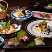 日本料理の美しさと、四季折々の味覚を楽しめる『懐石料理』