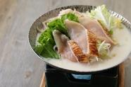大和の伝統的な鍋をアレンジした『あすか小鍋』