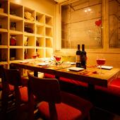 モダンな雰囲気とおいしい肉料理はデートにもおすすめ