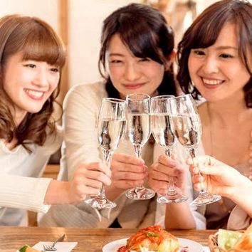当日ok!【女子会-Girls-コース】 鮮肉5種階段盛り付き11品!