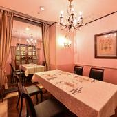 料理・空間・サービスとも格別。ゲストもホストも大満足の宴席を
