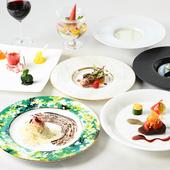自慢料理で彩るディナーの一番人気『ガストロノミーコース』