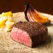 計算されつくした黒毛和牛の美味しさを堪能『シャトーブリアンのステーキ』