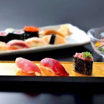 <ランチ>にぎり寿司セット「いろどり」