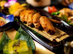 宴会に最適!地鶏料理8品を楽しむ人気ナンバー1プラン♪