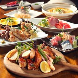 当店イチ押しの『美桜鶏の水炊き鍋』をメインに据えた、鶏の旨味を十分にお愉しみいただけるコース。