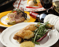 当店1番人気コース! お魚料理と葡萄牛カイノミのステーキをWメインに!!