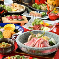 厳選食材を使用し、接待や会食といった大切なお食事会にもご利用頂きやすいコースとなっております。