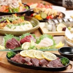 龍馬自慢の料理を豪快にお楽しみ頂けるコース☆ボリュームたっぷり「厚切り案がアンガズ牛ステーキ」など♪