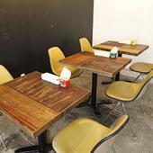 カフェ利用でも使えるお洒落な空間