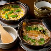 能登産コシヒカリを土鍋で炊きあげます