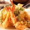 油にまでこだわり、豊かな香り『天ぷら』