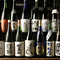 種類豊富な日本酒の数々