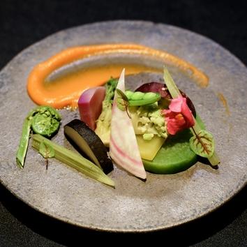 【一日個数限定】30品目のお野菜と季節のお魚メインコース 全8品