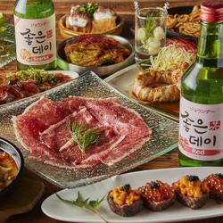 特別な日のご宴会はたっぷり3時間飲み放題付きの豪華韓国料理コースで楽しみませんか♪