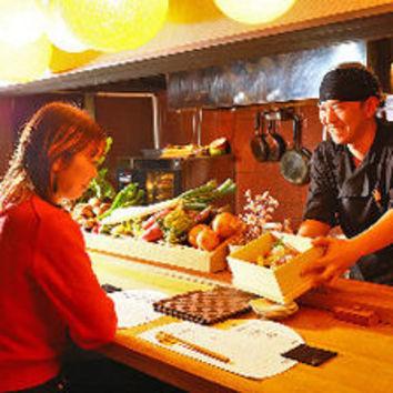 """21時以降""""遅割り""""通常4,000円→3,500円(日~木)宴会プラン"""