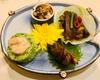 『川香苑』の四川料理に、『北京胡同』の焼肉も味わえる人気メニューを揃えたお得なフルコース!