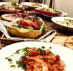 お料理のボリュームもございますので、団体でのご利用のお客様も満足できるコースです!
