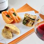 ワインとのペアリングが絶妙な『変わり種天ぷら』で魅せる