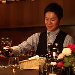 美味しさにプラスして、ワインバーならではの癒しをお届けしたい