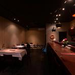 ワインの愉しみ方を広げる料理・空間が揃い、バー利用も歓迎!