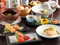 【にん・にん】だからこそできる、和食と中華のコラボレーション『和中折衷コース』