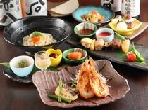 総料理長が監修、季節ごとに替わる旬の美味しさが散りばめられた『源氏コース』