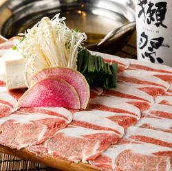 スタミナコース!浜松名物の浜松餃子に低温調理の絶品肉寿司2品希少なホルモン菊油の大トロホルモンなど♪