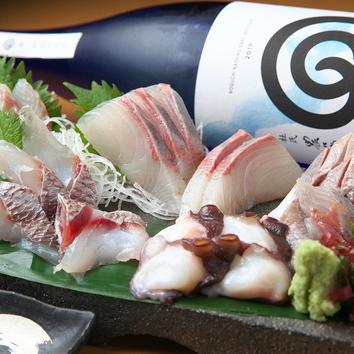 ●漁師飯コース 料理8品 飲み放題120分(90分L.O.)